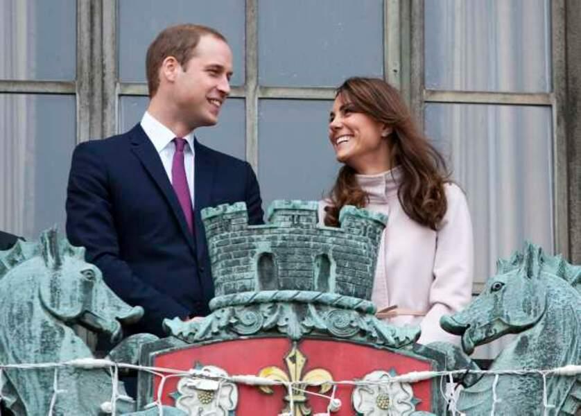 Kate et William très amoureux