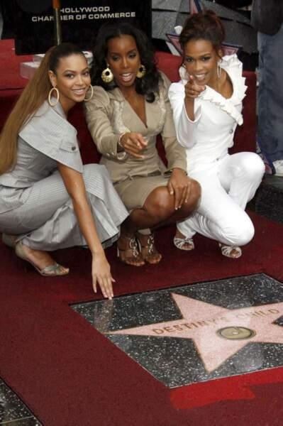 Depuis peu, il est même possible de fouler du pied les Destiny's Child du côté de Los Angeles.