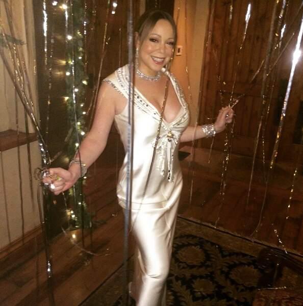 Glamour, Mariah Carey a cuisiné pour sa famille et ses amis