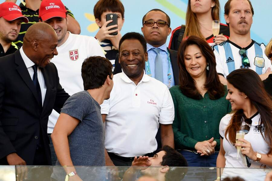 Le roi Pelé était là aussi