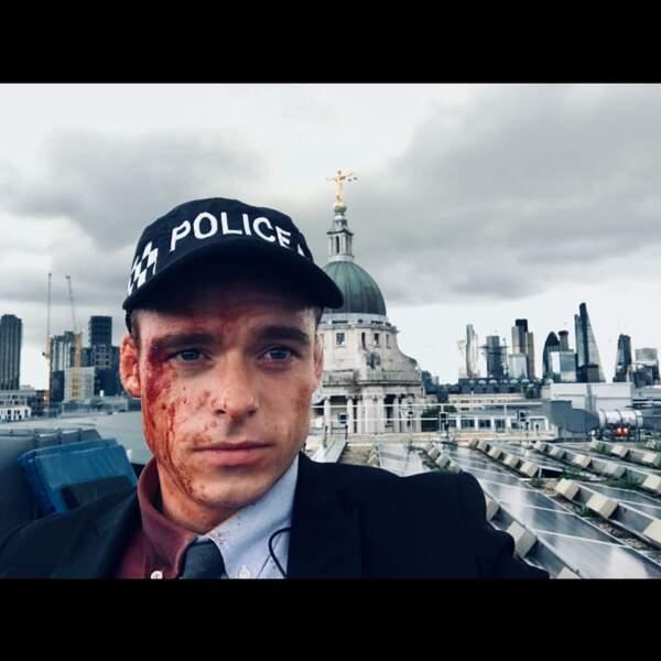 Il ne fait pas bon d''être policier à Londres. N'est-ce pas Richard Madden (Bodyguard) ?