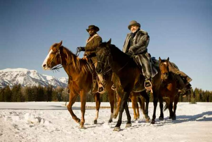 Django Unchained (2013) - Jamie Foxx et Christoph Waltz