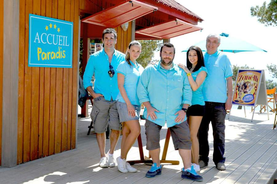 La nouvelle équipe du Camping Paradis
