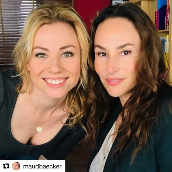 Qu'est-ce que Maud Baecker et Vanessa Demouy peuvent-elles bien mijoter ?