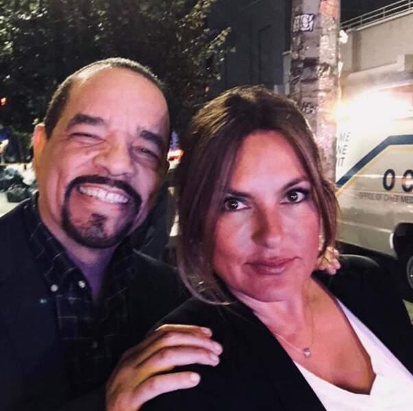 Mariska Hargitay et Ice-T célèbrent ensemble les 20 ans à l'antenne de New York Unite Spéciale
