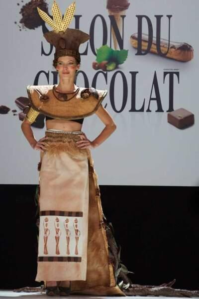 Elodie Varlet au Salon du chocolat