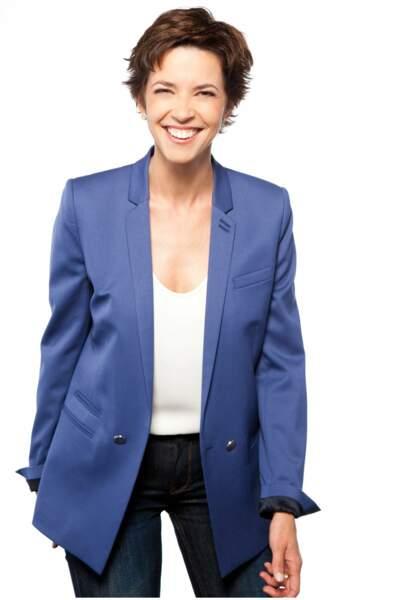 Nathalie Renoux, qui officie déjà sur M6 à la présentation du 12.45 et du 19.45 chaque weekend.