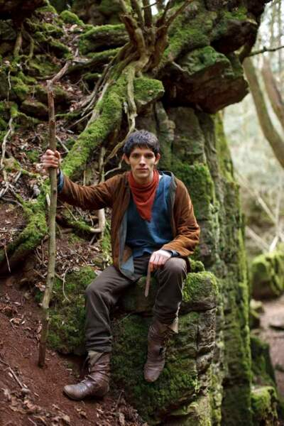 Le plus naïf : Colin Morgan dans Merlin
