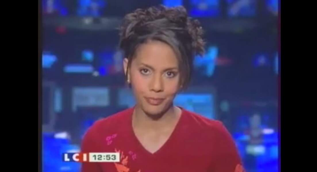 Audrey Pulvar a présenté les JT sur LCI avant de partir sur France 3 pour le Soir 3.