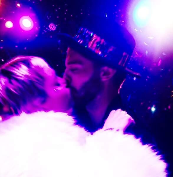 Miley Cyrus et Patrick Schwarzenegger ont bien démarré l'année