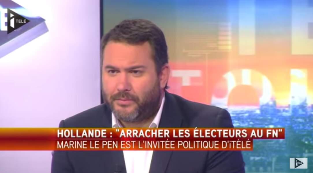 Bruce Toussaint, après quelques aventures sur Canal+ et France 2, présente la matinale d'iTELE