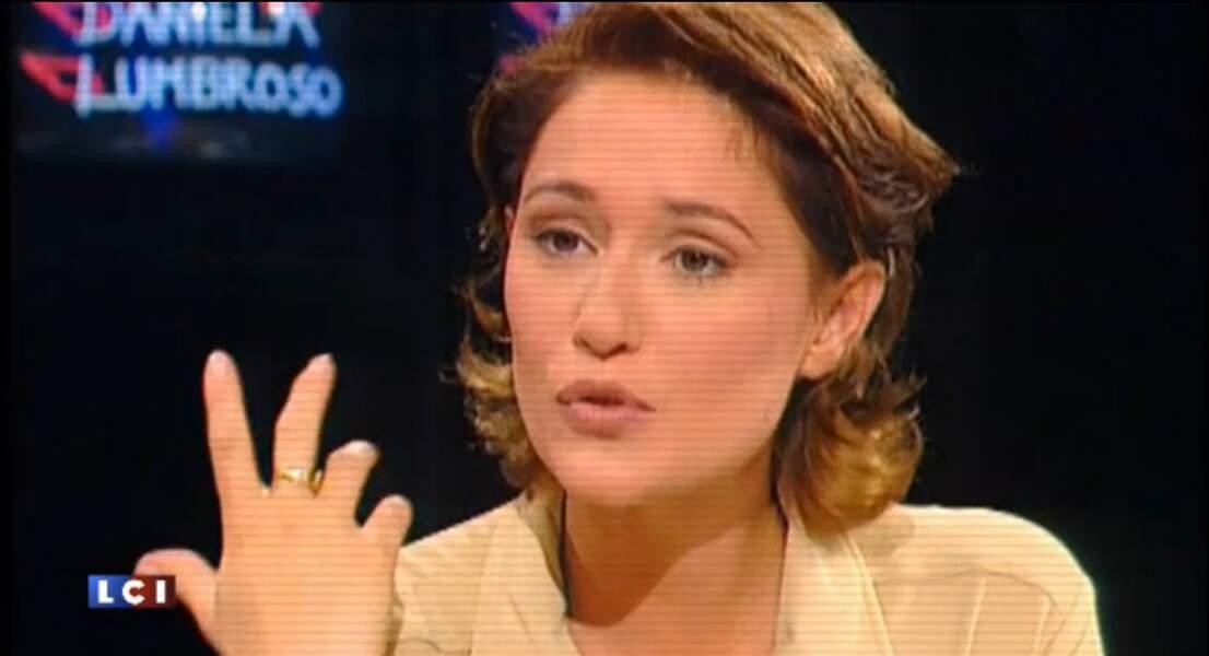 Daniela Lumbroso fait partie des visages dès le lancement de LCI en 1994.