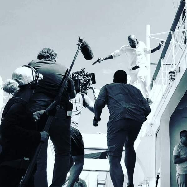 Shemar Moore raffole des scènes d'action et avec la série SWAT il est comblé