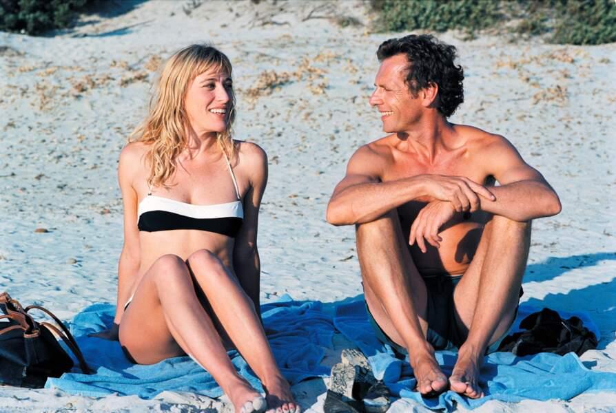 Valeria Bruni Tedeschi dans 5X2 (2004) : avec Stephane Freiss