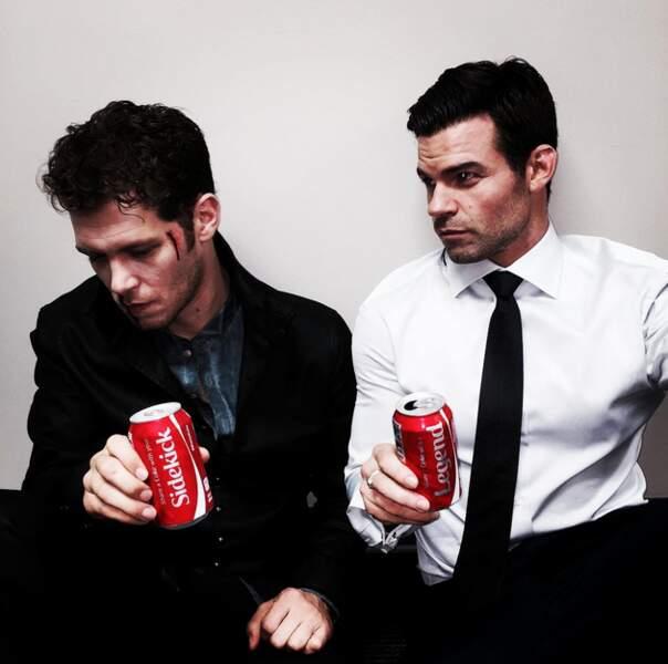 Les héros de The Originals se shootent au coca plutôt qu'au sang...