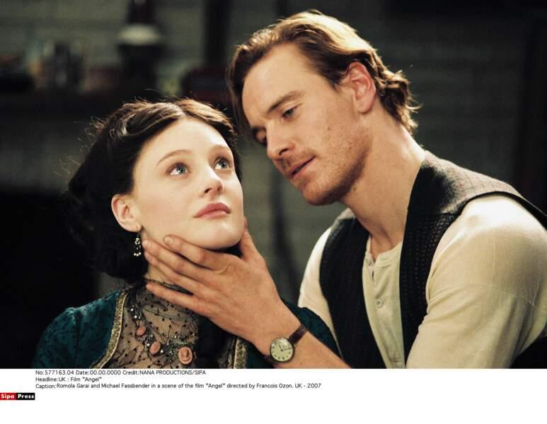 Il lui offre le rôle d'Esmé, peintre maudit qui séduit la belle Angel dans le film du même nom