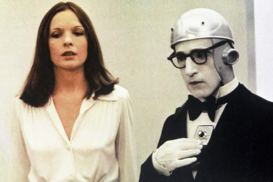 Diane Keaton en pleine science-fiction dans Woody et les robots (1973)
