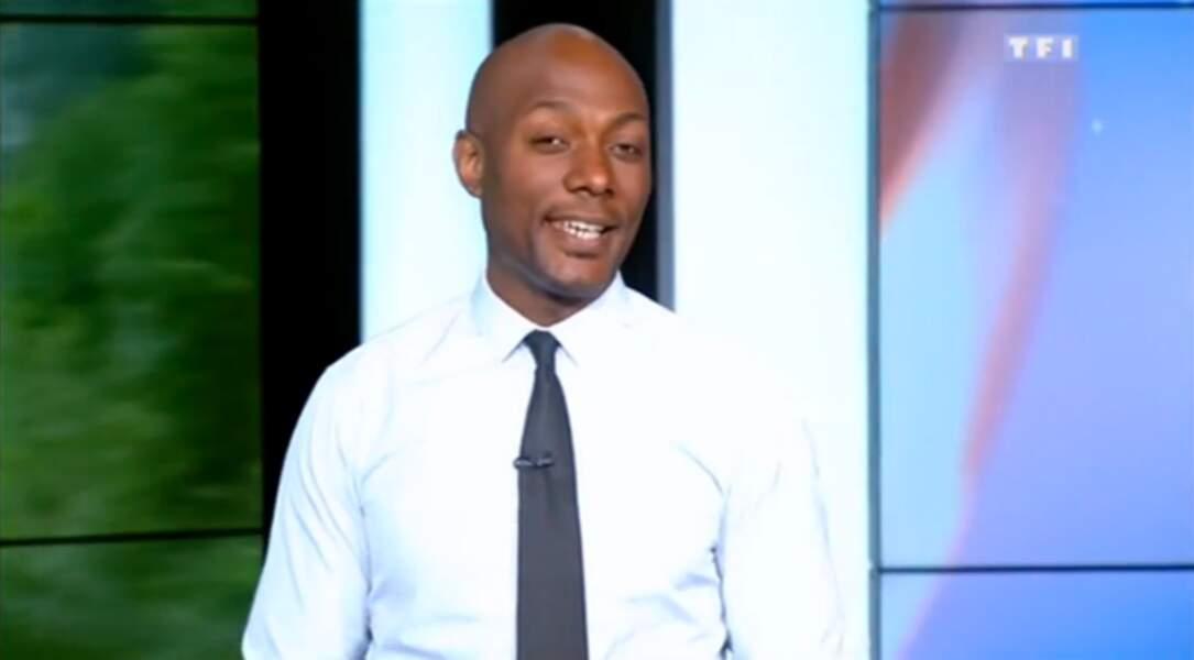 Harry Roselmack, après avoir été le joker de PPDA, présente Sept à Huit sur TF1