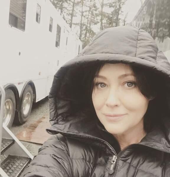 Shannen Doherty est ravie de retrouver le chemin des plateaux de tournage