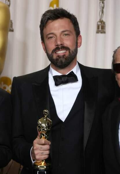 Ben Affleck, réalisateur d'Argo sacré meilleur film