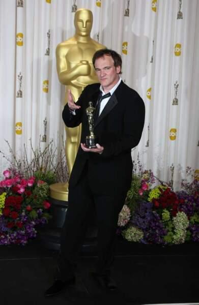 Quentin Tarantino, meilleur scénario original pour Django Unchained