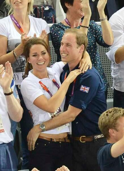 Kate et William s'enflamment pour les JO
