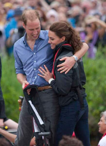 Kate et William : premier voyage officiel II