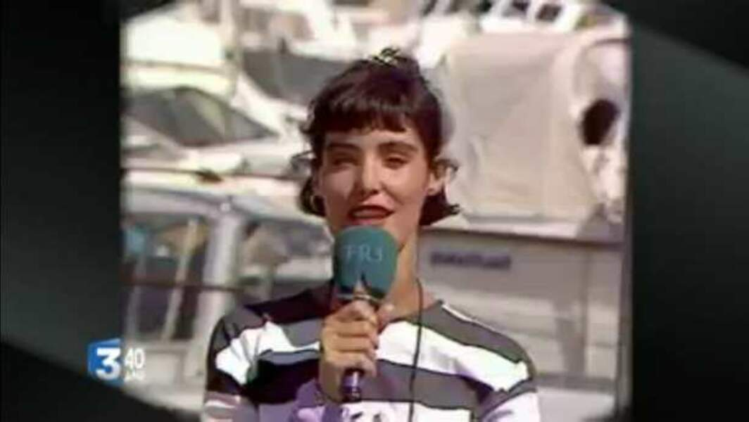 Caroline Tresca, lancée sur France 3 en 1986