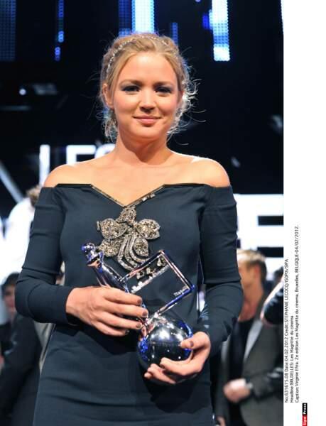 Ce n'est pas son premier prix : en 2012 elle recevait le Magritte du Prix du Public dans son pays d'origine.