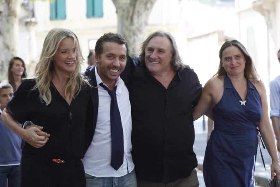 Puis la comédie Les Invincibles, où elle partage l'affiche avec Gérard Depardieu.