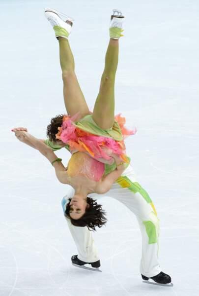 Nathalie Péchalat et Fabian Bourzat (danse sur glace)