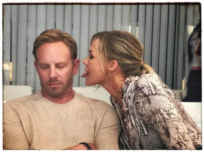 A Beverly Hills 90210, ça rigole dans les loges !