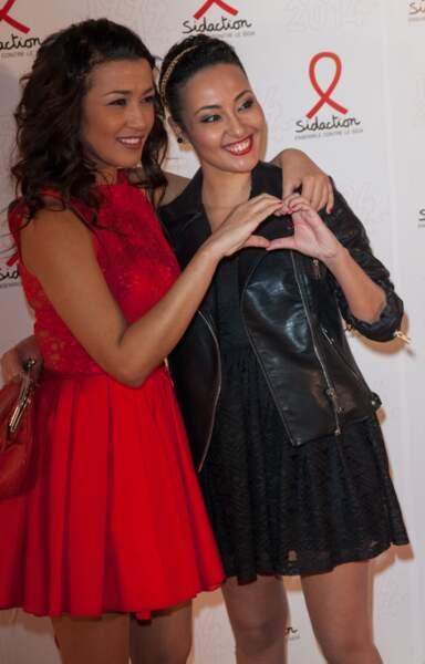 Karima Charni de W9 et sa soeur