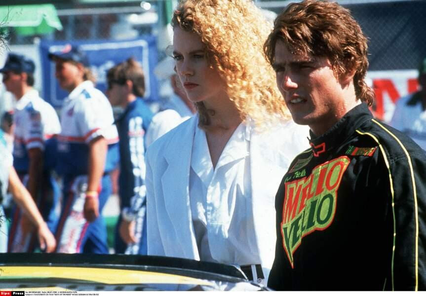 En 1990, changement de couleur et début de son histoire d'amour avec Tom Cruise