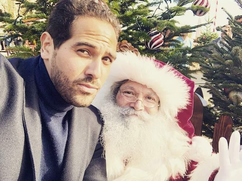 Samy Gharbi de Demain nous appartient a pris un peu d'avance et a déjà donné sa liste au Père Noël !
