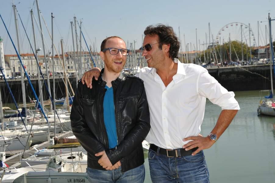 Marius Colucci et Anthony Delon