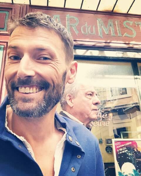 Laurent Kérusoré (Thomas dans Plus belle la vie), ravi du retour de Michel Cordes, alias Roland