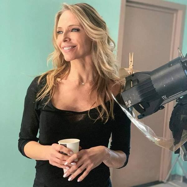 Tonya Kinzinger semble ravie d'intégrer le casting d'Un si grand soleil
