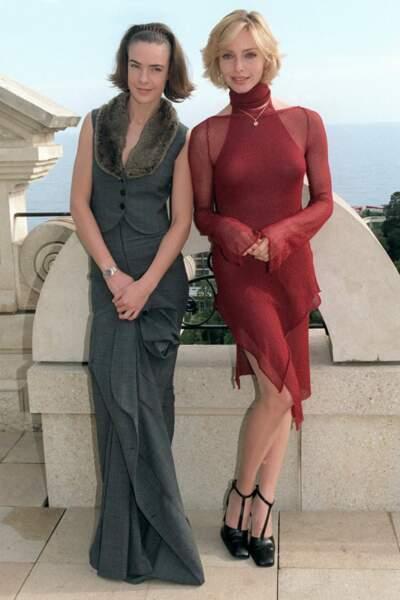 En 1999 avec Bénédicte Delmas au festival TV de Monte Carlo