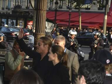 Brad Pitt et Angelina Jolie à l'avant-première parisienne de World War Z