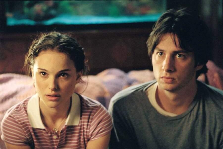 """Voici l'actrice avec Zach Braff dans """"Garden State - Zach Braff"""" en 2004"""