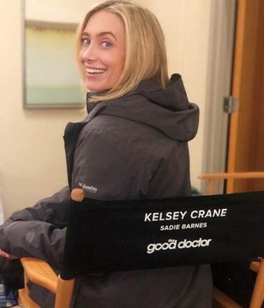 Nicholas Gonzalez est très fier d'annoncer que Kelsey Crane, sa femme, rejoint Good Doctor