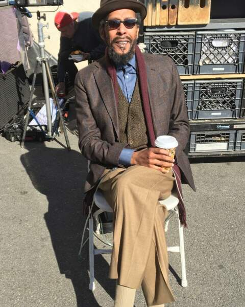 Ron Cephas Jones attend en plein soleil de reprendre le tournage de This is Us