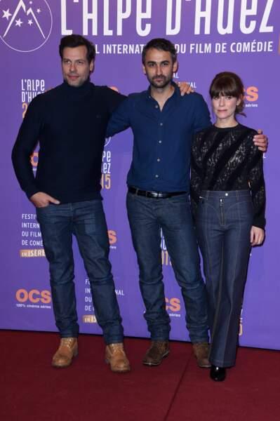 Les deux stars du film avec Martin Bourboulon