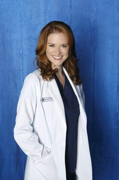 Le Dr April Kepner ( Sarah Drew) de Grey's Anatomy sur TF1
