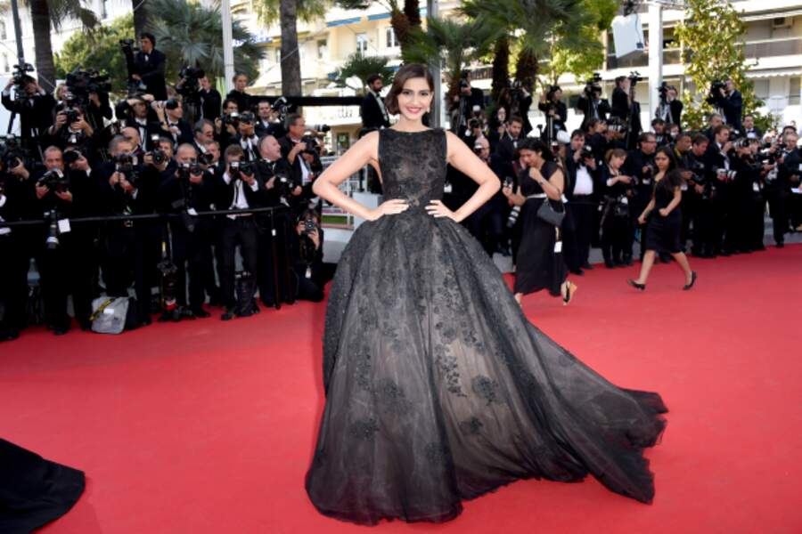 L'actrice indienne Sonam Kapoor