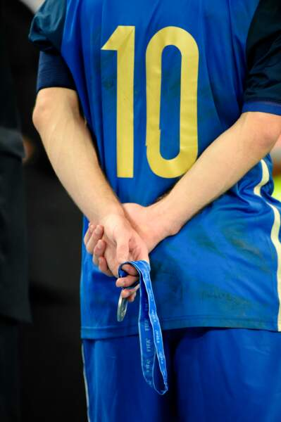 … L'Argentin a reçu un lot de consolation de la Fifa : le Ballon d'or