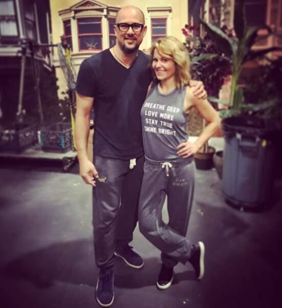 Les filles ont appris une chorégraphie avec Cris Judd, l'ex-mari de Jennifer Lopez
