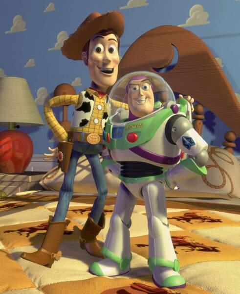Quant à Woody et Buzz, les premiers héros des studios Pixar
