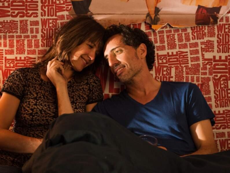 Avec Gad Elmaleh dans Un bonheur n'arrive jamais seul de James Huth (2012)